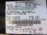 2011 Fusion Color Code for Tuxedo Black Metallic - Color Code: UH