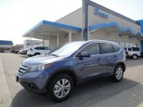 2012 Twilight Blue Metallic Honda CR-V EX-L 4WD #62596586
