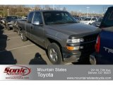 1999 Light Pewter Metallic Chevrolet Silverado 1500 LT Extended Cab 4x4 #62595934
