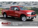 2012 Barcelona Red Metallic Toyota Tundra Double Cab 4x4 #62595917