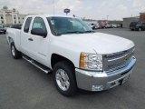 2012 Summit White Chevrolet Silverado 1500 LT Extended Cab 4x4 #62596554