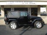 2010 Black Jeep Wrangler Sahara 4x4 #62596242