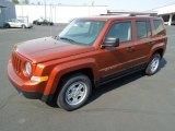 2012 Jeep Patriot Copperhead Orange Pearl