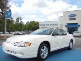 2003 White Chevrolet Monte Carlo LS #62596219
