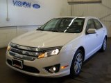 2010 White Platinum Tri-coat Metallic Ford Fusion SEL V6 AWD #62663496
