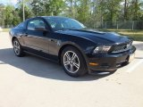 2011 Ebony Black Ford Mustang V6 Premium Coupe #62663735