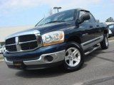 2006 Patriot Blue Pearl Dodge Ram 1500 SLT Quad Cab #62663225