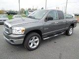 2008 Mineral Gray Metallic Dodge Ram 1500 Big Horn Edition Quad Cab 4x4 #62663472