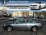 2003 Dark Titanium Metallic Chrysler Sebring LXi Coupe #62663686