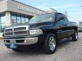 1999 Black Dodge Ram 1500 SLT Extended Cab #62663161