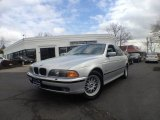2000 Titanium Silver Metallic BMW 5 Series 528i Sedan #62663153