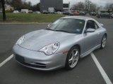 2002 Porsche 911 Polar Silver Metallic
