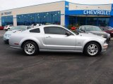 2005 Satin Silver Metallic Ford Mustang GT Premium Coupe #62663131