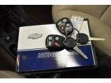 2003 Chevrolet Monte Carlo SS Keys
