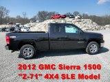 2012 GMC Sierra 1500 SLE Extended Cab 4x4