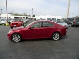 2008 Matador Red Mica Lexus IS 250 AWD #62663611
