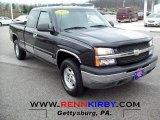 2004 Dark Gray Metallic Chevrolet Silverado 1500 LS Extended Cab 4x4 #62663379