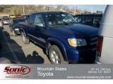 2005 Spectra Blue Mica Toyota Tundra SR5 TRD Access Cab 4x4 #62663060
