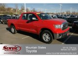 2010 Radiant Red Toyota Tundra Double Cab 4x4 #62663056