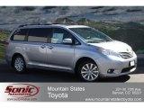 2012 Silver Sky Metallic Toyota Sienna XLE AWD #62663053