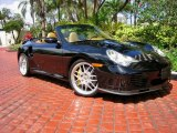 2005 Black Porsche 911 Turbo S Cabriolet #62663363