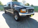 2000 Black Ford F250 Super Duty Lariat Crew Cab 4x4 #62663298
