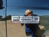 2000 Ford F250 Super Duty Lariat Crew Cab 4x4 Marks and Logos