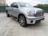 2012 Silver Sky Metallic Toyota Tundra Texas Edition Double Cab #62663283