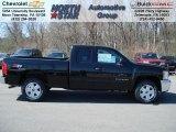 2012 Black Chevrolet Silverado 1500 LT Extended Cab 4x4 #62714671