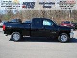 2012 Black Chevrolet Silverado 1500 LS Extended Cab 4x4 #62714663