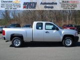 2012 Silver Ice Metallic Chevrolet Silverado 1500 Work Truck Extended Cab #62714662