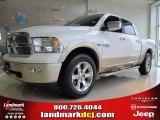 2012 Bright White Dodge Ram 1500 Laramie Longhorn Crew Cab #62714642