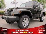 2012 Black Jeep Wrangler Sport 4x4 #62714623