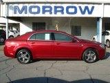 2008 Red Jewel Tint Coat Chevrolet Malibu LT Sedan #62714609