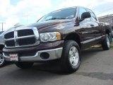 2005 Deep Molten Red Pearl Dodge Ram 1500 SLT Quad Cab 4x4 #62714554