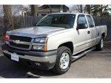 2005 Silver Birch Metallic Chevrolet Silverado 1500 LS Extended Cab 4x4 #62715010
