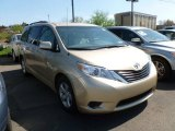 2011 Sandy Beach Metallic Toyota Sienna LE #62714499