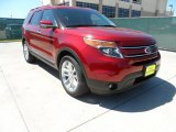 2013 Ruby Red Metallic Ford Explorer Limited #62714747
