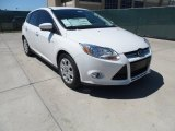 2012 Oxford White Ford Focus SE 5-Door #62714743
