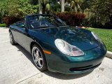 2001 Porsche 911 Rain Forest Green Metallic