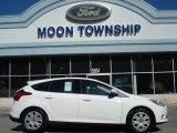 2012 Oxford White Ford Focus SE 5-Door #62714709