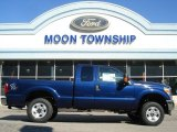 2012 Dark Blue Pearl Metallic Ford F250 Super Duty XLT SuperCab 4x4 #62714708