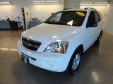 2009 Clear White Kia Sorento LX 4x4 #62757891