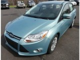 2012 Frosted Glass Metallic Ford Focus SE Sedan #62757880