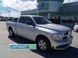 2011 Bright Silver Metallic Dodge Ram 1500 SLT Quad Cab 4x4 #62757850