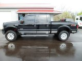 2005 Black Ford F350 Super Duty Lariat Crew Cab 4x4 #62758318