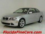 2005 Titanium Silver Metallic BMW 3 Series 325i Coupe #543818
