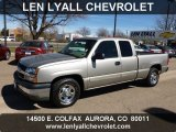 2003 Light Pewter Metallic Chevrolet Silverado 1500 LS Extended Cab #62757405