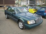 1995 Mercedes-Benz E 300D Sedan Front 3/4 View