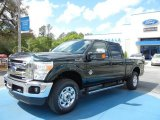 2012 Green Gem Metallic Ford F250 Super Duty XLT Crew Cab 4x4 #62757394